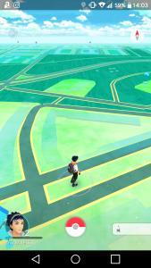 Navigation in Pokemon Go